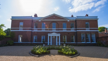 Bawtry Hall Wedding Venue Frontage - Yorkshire
