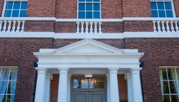 Bawtry Hall Wedding Venue Entrance Door - Yorkshire