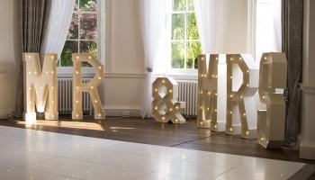 Bawtry Hall Wedding Venue Interior bay window - Yorkshire