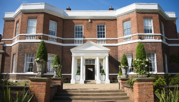 Bawtry Hall Wedding Venue Entrance - Yorkshire