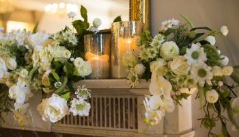 Bawtry Hall Wedding Venue Decor - Yorkshire