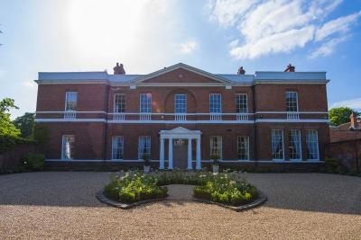 Bawtry Hall Wedding Venue Frontage - Yorkshire