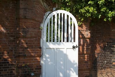 Bawtry Hall Wedding Venue Gate - Yorkshire