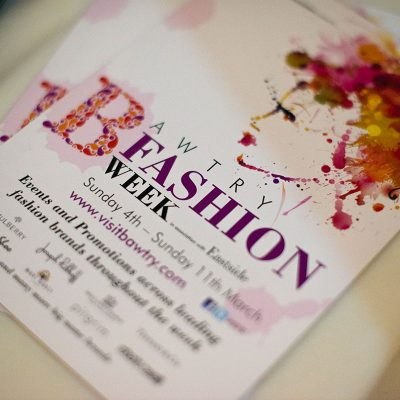 Bawtry Fashion Week Wedding Showcase Event