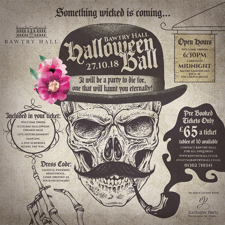 Halloween At Bawtry Hall Doncaster