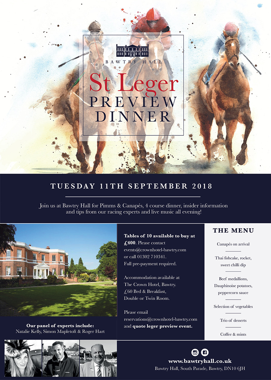 Bawtry Hall St Leger Preview