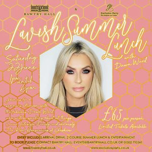 Dawn Ward Lunch Event - Bawtry Doncaster