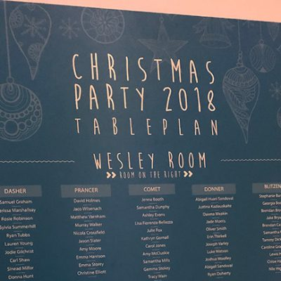 Christmas Party Events 2018
