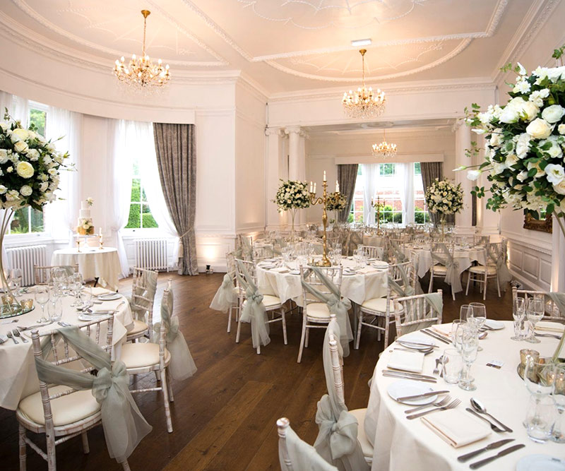 Winter - Spring Wedding venue package