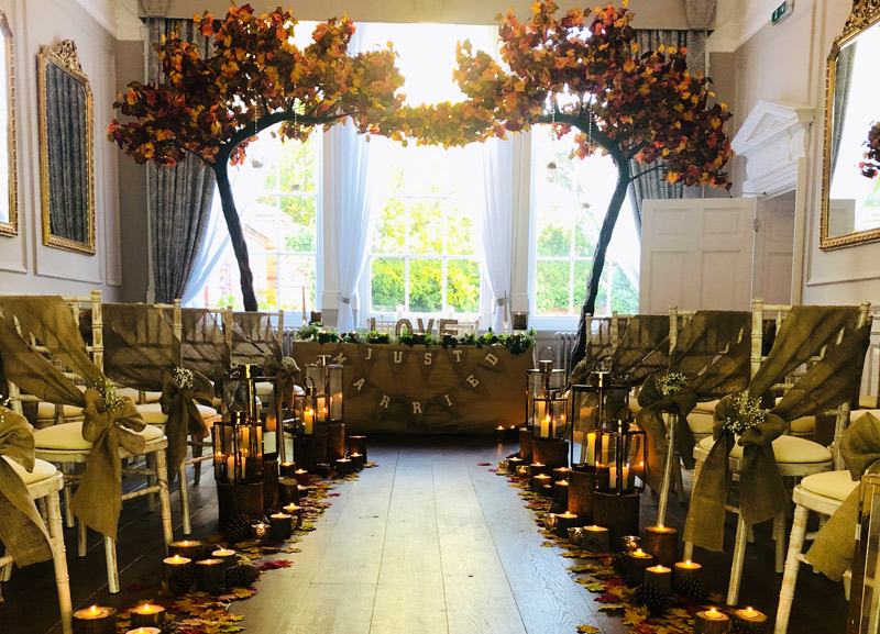 Autumn Wedding Package