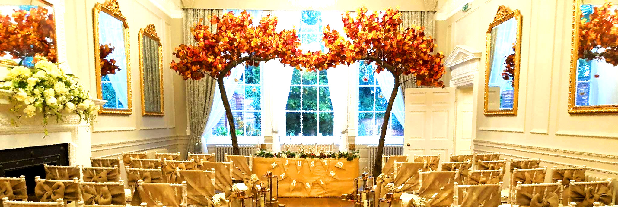 Autumn Wedding Venue