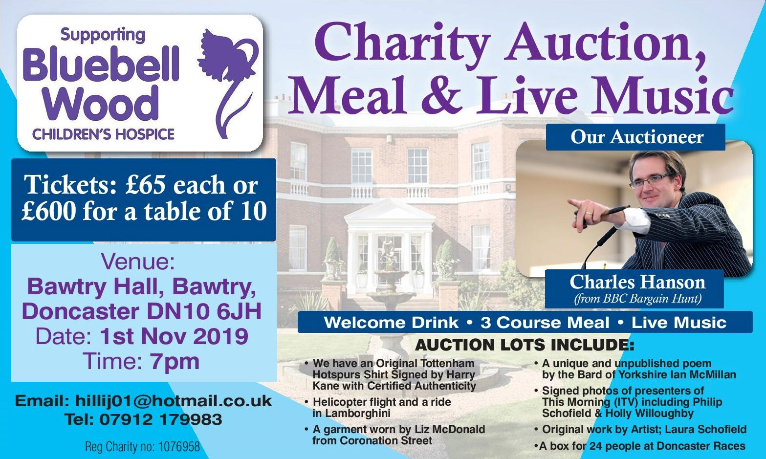 Bluebell Wood Charity Meal & Auction