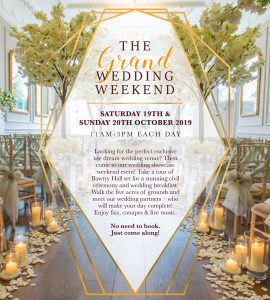 Wedding Showcase - Bawtry, Doncaster , South Yorkshire