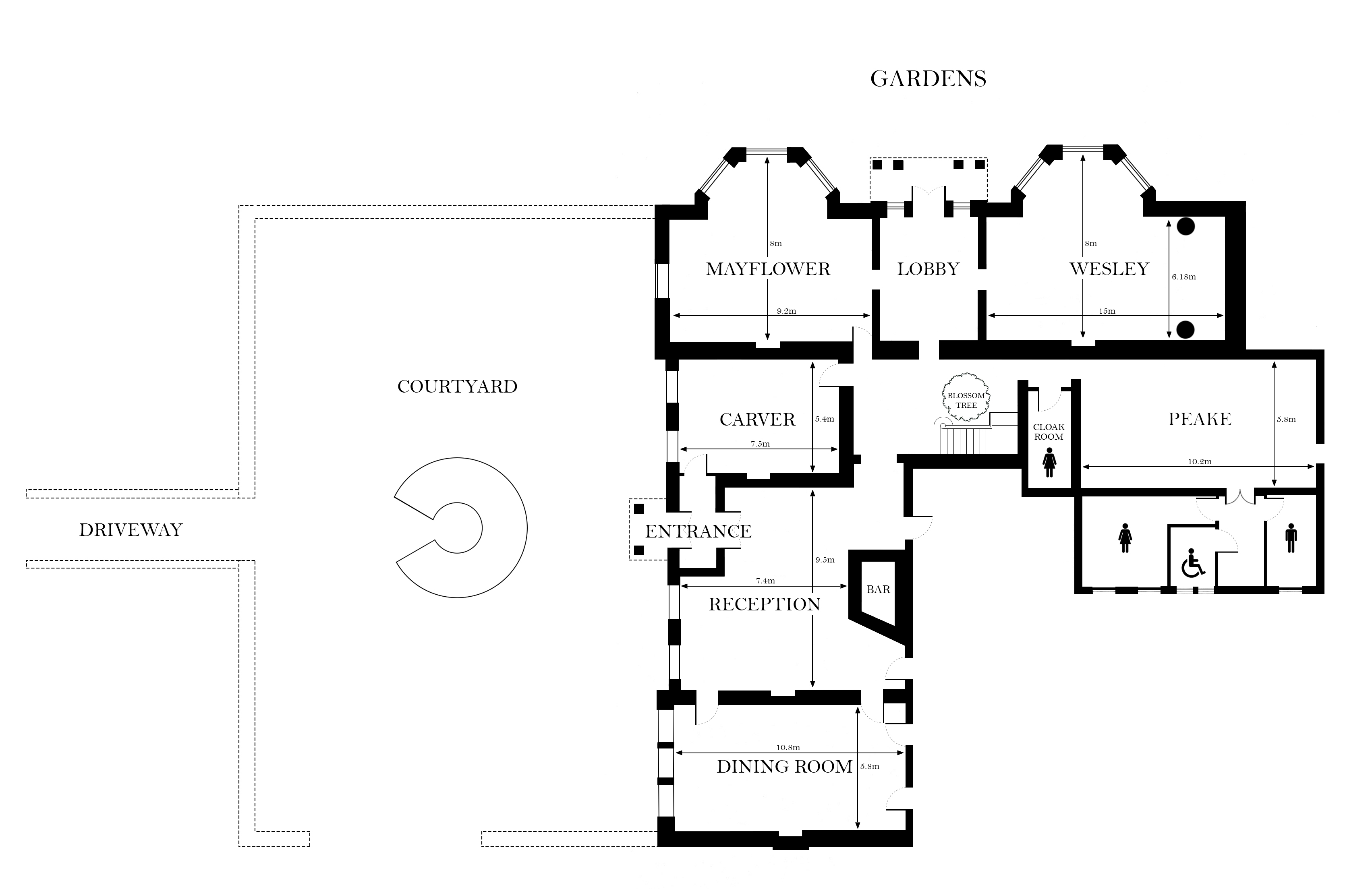 Bawtry Hall Floor Plan