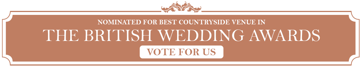 British Wedding Award Nominated