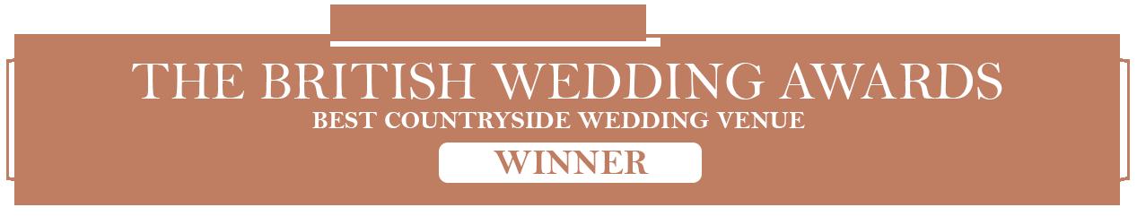British Wedding Award Winner