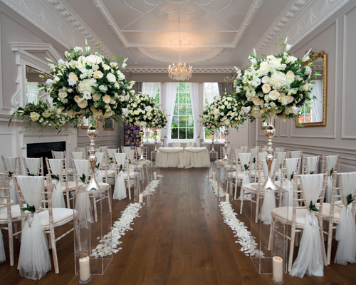 Bawtry Hall Winter / Spring Wedding Package