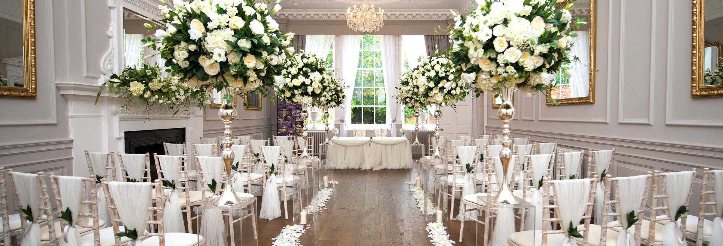 Winter / Spring Wedding Venue